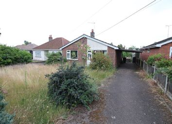 Thumbnail 2 bedroom detached bungalow for sale in The Footpath, Poringland, Norwich