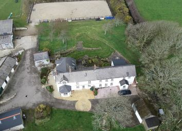 Thumbnail 5 bed farmhouse for sale in Trethellan, Lanner, Redruth