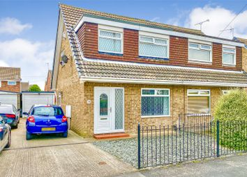Thumbnail 3 bed semi-detached house for sale in Hathersage Road, Hull, East Yorkshire