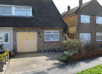 Thumbnail 3 bed semi-detached bungalow for sale in Westfield Close, Polegate