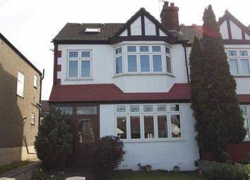 Thumbnail End terrace house for sale in Hall Lane, London