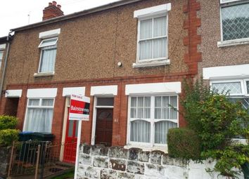 Thumbnail 2 bed terraced house for sale in Dugdale Road, Radford, Coventry, West Midlands