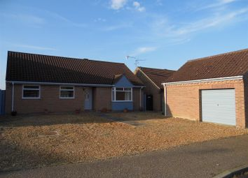 Thumbnail 3 bed detached bungalow for sale in Upton Drive, Swaffham