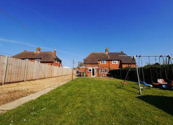 Thumbnail 3 bed semi-detached house for sale in Saxons Heath, Long Wittenham, Abingdon