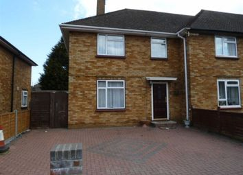 Thumbnail 3 bed end terrace house to rent in Brook Road, Borehamwood, Herts