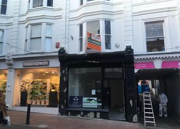 Thumbnail Retail premises to let in 27 Duke Street, Brighton, East Sussex
