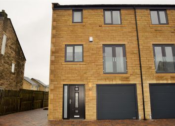 Thumbnail 4 bed town house for sale in Long Lane, Queensbury, Bradford
