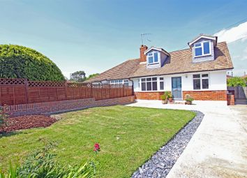 Thumbnail 3 bedroom semi-detached bungalow for sale in Gorringe Valley Road, Willingdon, Eastbourne