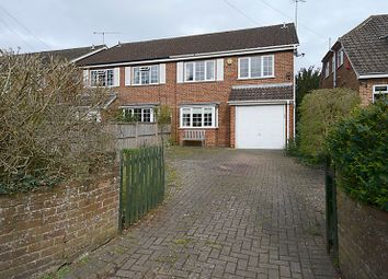 Thumbnail 4 bed semi-detached house for sale in St Mary's Avenue, Purley On Thames, Berkshire