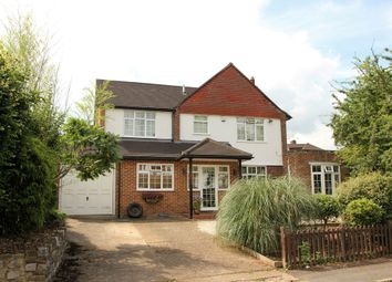 Thumbnail 4 bed detached house for sale in Oaks Way, Long Ditton, Surbiton