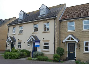 Thumbnail 3 bed town house to rent in Roman Way, Godmanchester, Huntingdon