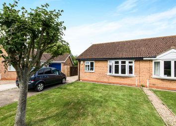 Thumbnail 2 bed semi-detached bungalow for sale in Hastings Drive, Wainfleet, Skegness