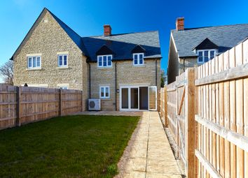 Thumbnail 3 bed semi-detached house for sale in Priors Lane, Hinton Waldrist, Oxfordshire