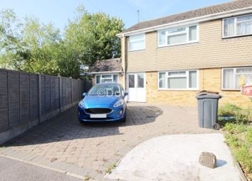 Thumbnail 4 bed semi-detached house for sale in Brookside, Hoo, Rochester