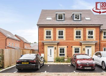 Thumbnail 3 bed town house for sale in Arlott Green, Crowthorne, Berkshire
