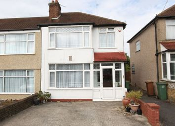 Thumbnail 3 bed end terrace house for sale in Molesey Drive, North Cheam, Sutton