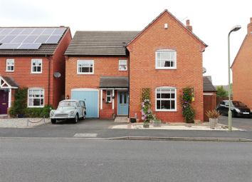 Thumbnail 4 bed detached house for sale in Windmill Meadow, Wem, Shrewsbury