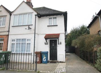 Thumbnail 1 bed flat to rent in Glebe Road, Stanmore