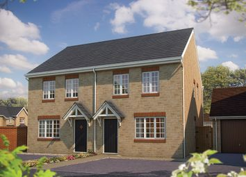 """Thumbnail 2 bed semi-detached house for sale in """"The Holly"""" at King Alfred Way, Oxfordshire, Wantage"""