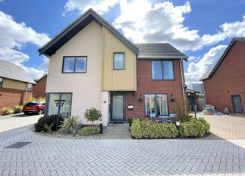 Thumbnail 4 bed detached house for sale in Conroy Close, Sprowston, Norwich