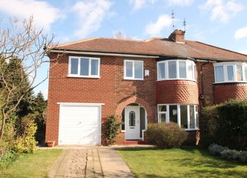 Thumbnail 3 bed semi-detached house to rent in Stoops Road, Bessacarr, Doncaster