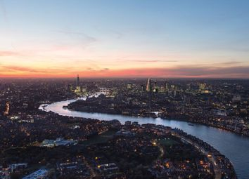 Thumbnail 2 bed flat for sale in 40 Landmark Square, London