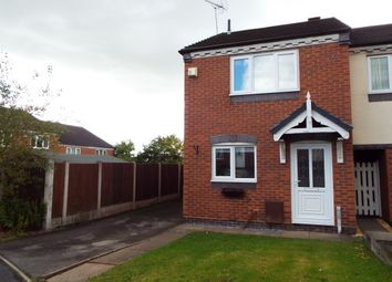 Thumbnail 2 bed semi-detached house to rent in Holt Crescent, Heath Hayes, Cannock