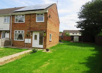 Thumbnail 3 bed end terrace house for sale in Thrush Close, Melton Mowbray
