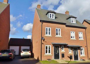Thumbnail Semi-detached house for sale in John Clare Close, Oakham
