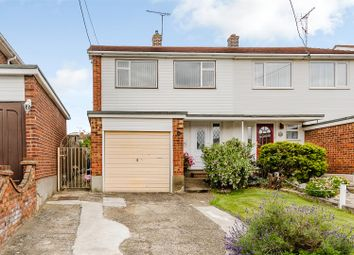 Thumbnail 4 bed semi-detached house for sale in Oakfield Road, Benfleet