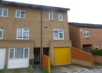 Thumbnail 3 bed town house for sale in Polruan Place, Fishermead, Milton Keynes