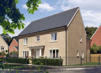 "Thumbnail 4 bed detached house for sale in ""The Witcombe"" at Vale Road, Bishops Cleeve, Cheltenham"