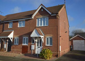 Thumbnail 2 bed semi-detached house for sale in Stanier Drive, Leicester