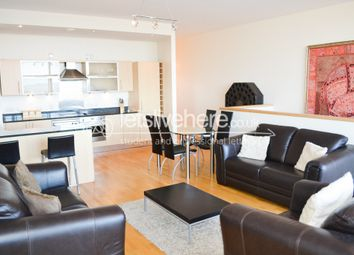 Thumbnail 3 bedroom flat to rent in Penthouse, 55 Degrees North, Newcastle City Centre