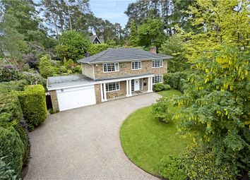 Thumbnail 5 bed detached house for sale in Chesters Road, Camberley, Surrey