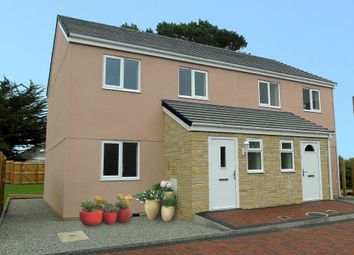Thumbnail 3 bed end terrace house for sale in 25 Strawberry Fields, Crowlas, Penzance.