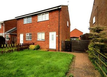 Thumbnail 2 bed semi-detached house to rent in Silvertree Walk, Goole