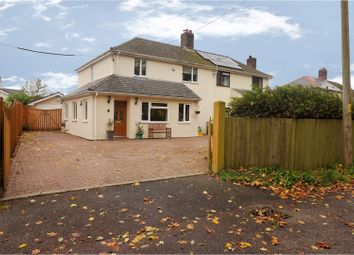 Thumbnail 4 bed semi-detached house for sale in Llanvair Road, Caerwent