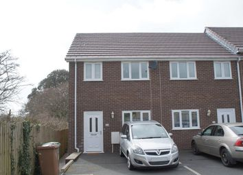 Thumbnail 2 bed end terrace house to rent in Fraser Road, Tamerton Foliot, Plymouth