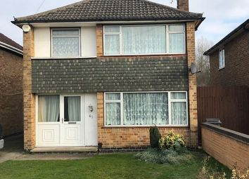 Thumbnail 3 bed detached house for sale in Lanesborough Road, Leicester