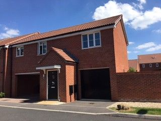 Thumbnail 2 bedroom property to rent in Hawthorn Close, Hardwicke, Gloucester