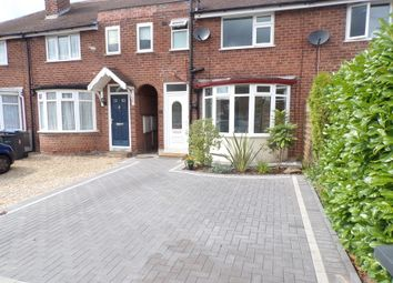 Thumbnail 3 bed terraced house to rent in Clarendon Road, Sutton Coldfield