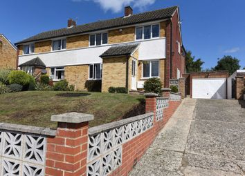 Thumbnail 4 bed semi-detached house to rent in Hedgeway, Newbury