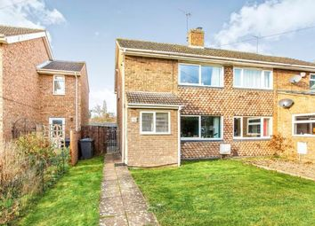 Thumbnail 2 bed semi-detached house for sale in Church Close, Little Paxton, St. Neots, Cambridgeshire