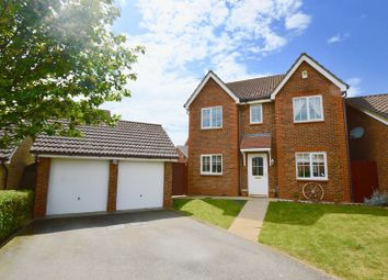 Thumbnail 4 bedroom detached house for sale in Reed Close, Hampton Hargate, Peterborough