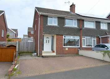 Thumbnail 3 bed semi-detached house for sale in Derlwyn, Killay, Swansea