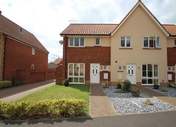 Thumbnail 3 bed end terrace house for sale in Audley Grove, Rushmere St Andrew, Ipswich