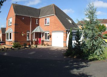 Thumbnail 4 bed detached house for sale in Thorpe Close, Stapenhill, Staffordshire