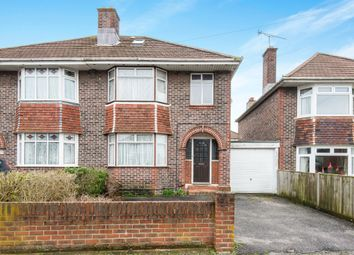 Thumbnail 4 bedroom semi-detached house for sale in King Georges Avenue, Southampton