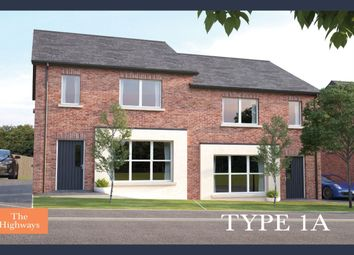 Thumbnail 3 bed semi-detached house for sale in The Highways, Ballyhampton Road, Larne